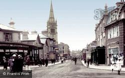 Queen Street 1918, Newton Abbot