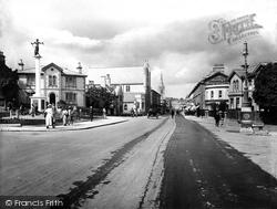 Newton Abbot, Queen Street 1922