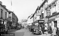 Newton Abbot, Queen Street 1954