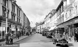 Queen Street c.1955, Newton Abbot