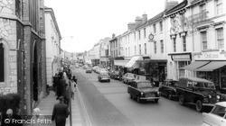 Newton Abbot, Queen Street c.1965