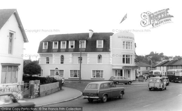 Photo of Newton Abbot, Queens Hotel c.1965