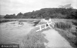 Newton Abbot, River Teign 1922