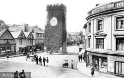 Newton Abbot, St Leonard's Tower 1906