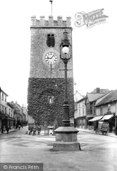 Newton Abbot, St Leonard's Tower 1910