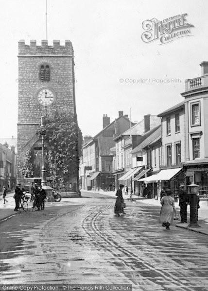 Photo of Newton Abbot, St Leonard's Tower 1922