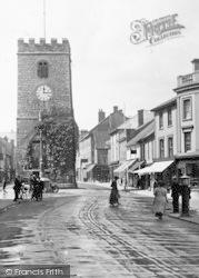Newton Abbot, St Leonard's Tower 1922