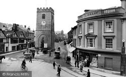 Newton Abbot, St Leonard's Tower 1924