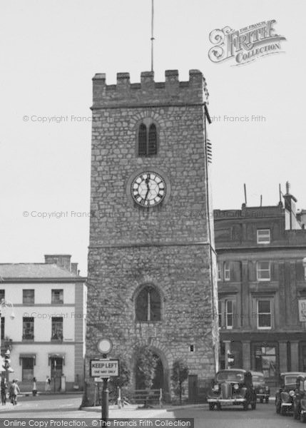 Photo of Newton Abbot, St Leonard's Tower c.1955