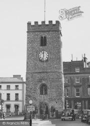 Newton Abbot, St Leonard's Tower c.1955
