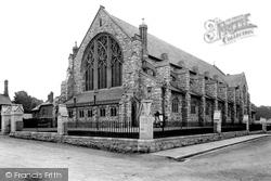 Newton Abbot, St Mary's Church, Highweek 1910