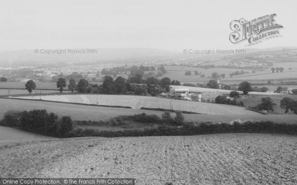 Photo of Newton Abbot, Teign Valley c.1955