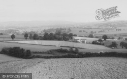 Newton Abbot, Teign Valley c.1955