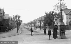 Newton Abbot, The Avenue 1910