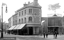 Newton Abbot, The Clothing Mart, Courtenay Street 1910