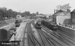 The Railway Station 1907, Newton Abbot