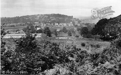 Newton Abbot, View From Milber Down 1922