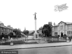 Newton Abbot, War Memorial 1922