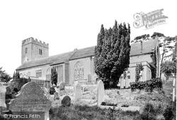 Newton Abbot, Wolborough Church 1890