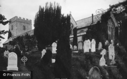 Wolborough Church 1895, Newton Abbot