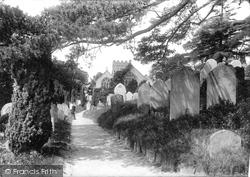 Newton Abbot, Wolborough Church 1896