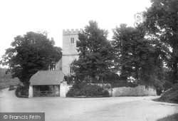 Newton Abbot, Wolborough Church 1899