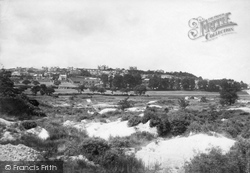 Newton Abbot, Wolborough Hill And Clay Pits 1890