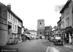 Newton Abbot, Wolborough Street c.1955
