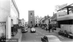 Newton Abbot, Wolborough Street c.1965
