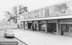 Beveridge Way Shopping Parade c.1960, Newton Aycliffe