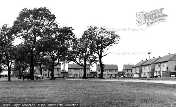 Photo of Newton Aycliffe, Clarence Corner c1955, ref. n70025