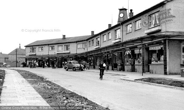 Photo of Newton Aycliffe, Neville Parade c1955, ref. n70028