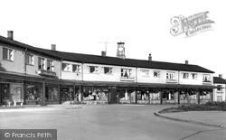 Neville Parade Shopping Centre c.1955, Newton Aycliffe
