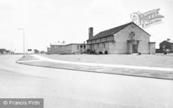 St Clares School And Central Avenue c.1955, Newton Aycliffe