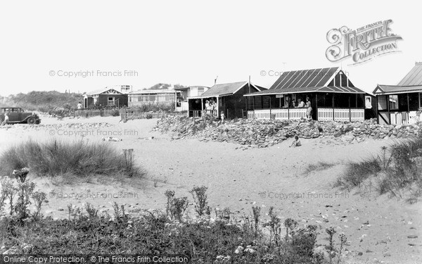 Newton, Beach Bungalows c1950