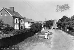 Newton, Beach Road c.1950
