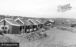 Newton, Beach, The Bungalows c.1950
