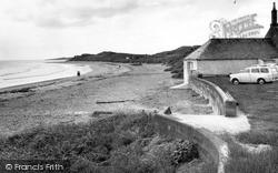 Newton-By-The-Sea, The Beach c.1965