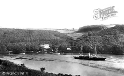 Newton Ferrers, Ferry House And Plantations 1901