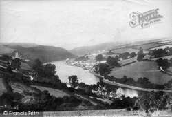 Newton Ferrers, From The Lookout 1901