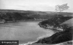 Newton Ferrers, River Yealm Estuary, Old Cellars Bay 1924