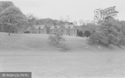 Newton In Bowland, Dunnow Hall c.1960, Newton-In-Bowland