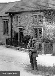Newton In Bowland, Father And Son 1922, Newton-In-Bowland