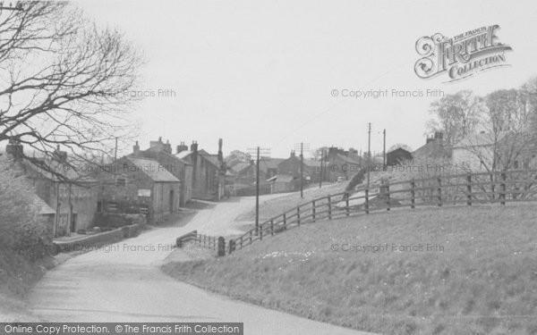 Photo of Newton In Bowland, From Slaidburn Road c.1955