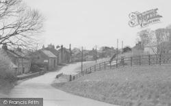 Newton In Bowland, From Slaidburn Road c.1955, Newton-In-Bowland