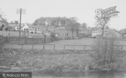 Newton In Bowland, General View c.1955, Newton-In-Bowland