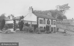 Newton In Bowland, The Parker Arms Hotel c.1960, Newton-In-Bowland