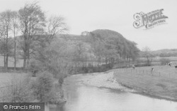 Newton In Bowland, The River Hodder c.1960, Newton-In-Bowland