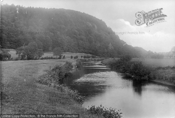 Photo of Newton In Bowland, Under Dunnow Woods, River Hodder 1921
