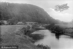 Newton In Bowland, Under Dunnow Woods, River Hodder 1921, Newton-In-Bowland